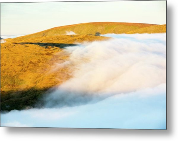 High Street From Red Screes Metal Print