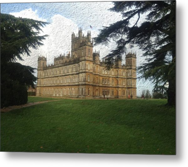 Highclere Castle Downton Abbey 2 Metal Print