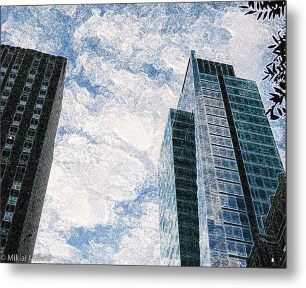 Higher Sight Metal Print by Aeabia A