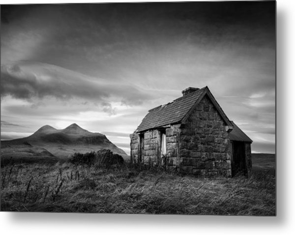 Highland Cottage 2 Metal Print