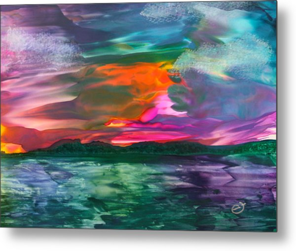Highland Skies Metal Print
