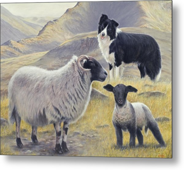 Highland Spirit Metal Print