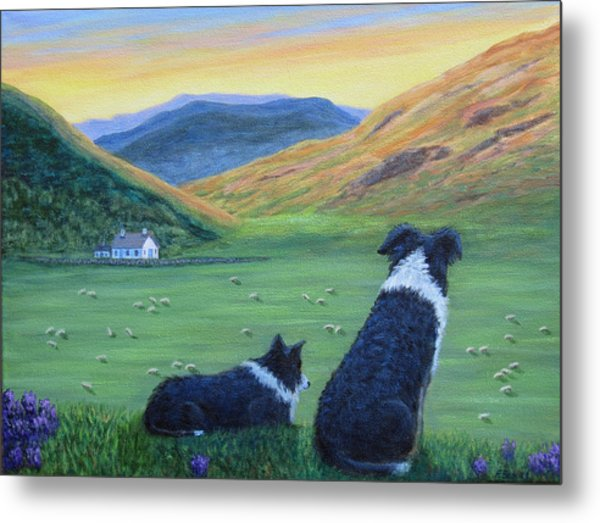 Highland Watch Metal Print
