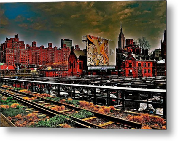 Highline Nyc Metal Print