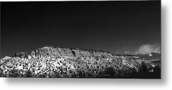 Highway 502 To Los Alamos Nm Metal Print