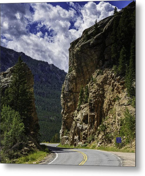 Highway To Heaven Metal Print by Tom Wilbert