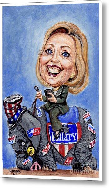 Hillary Clinton 2016 Metal Print