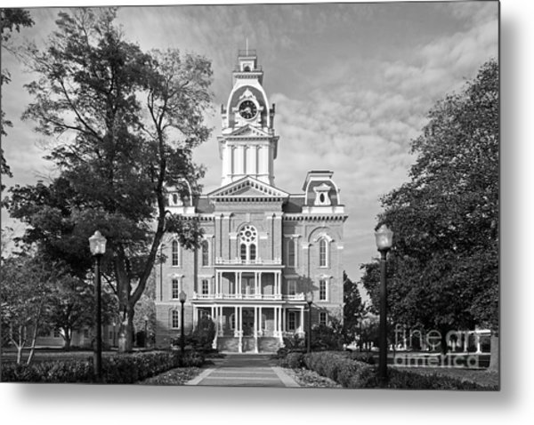 Hillsdale College Central Hall Metal Print