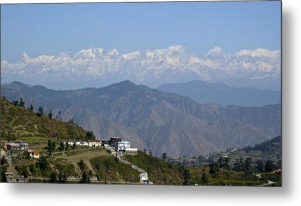 Himalayas II Metal Print