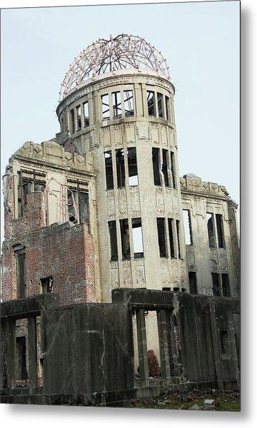 Hiroshima Peace Memorial Metal Print