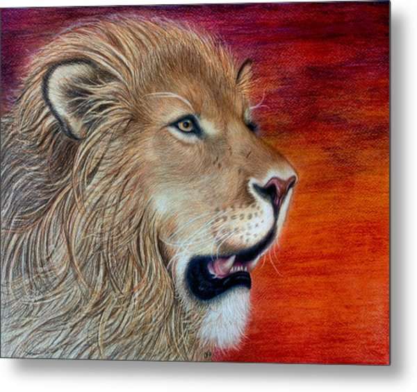 His Majesty Metal Print