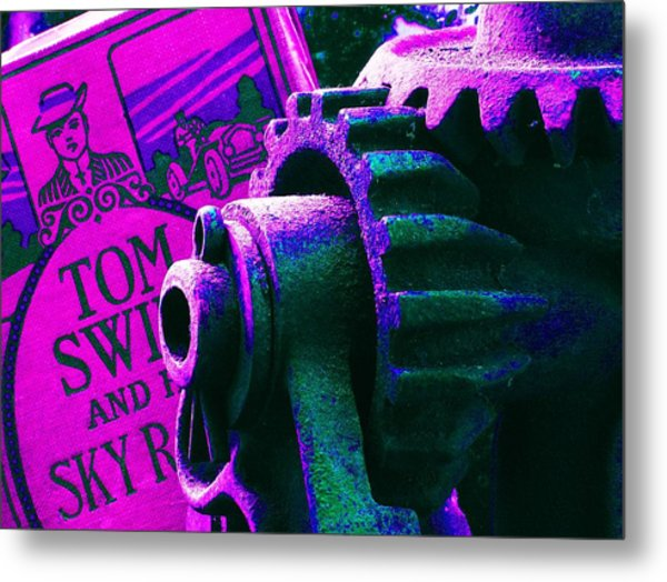 His Sky Racer... Metal Print