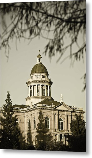 Historic Auburn Courthouse 6 Metal Print
