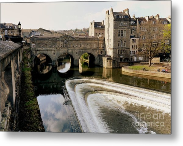Historic Bath Metal Print