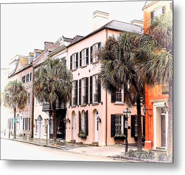 Historic Charleston Metal Print