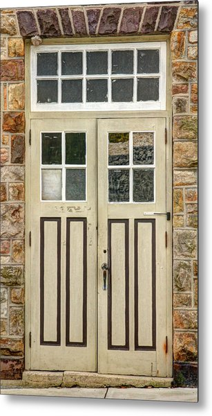 Historic Doors I Metal Print by Lisa Hurylovich