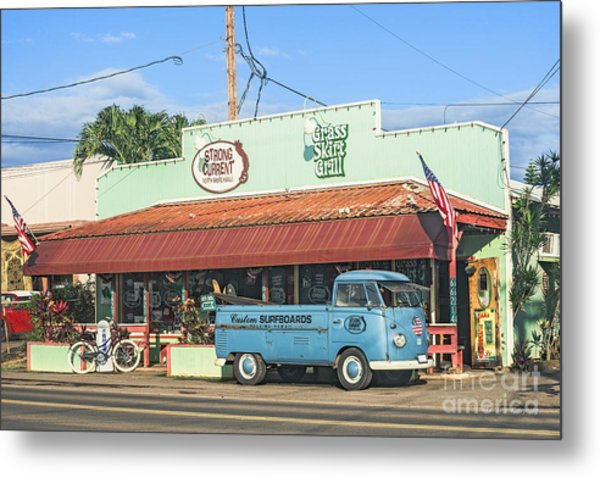 Historic Haleiwa Surf Town On The North Shore Of Oahu Metal Print
