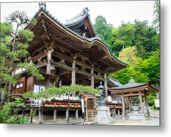 Historic Japanese Temple Metal Print