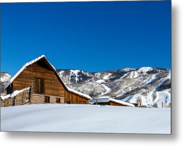 Historic Steamboat Spring Barn Metal Print