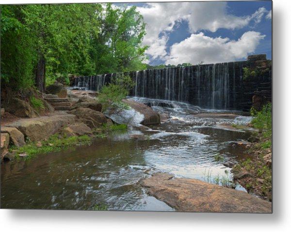 Historic Yates Mill Dam - Raleigh N C Metal Print