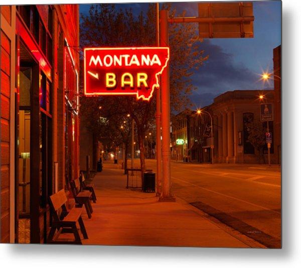 Historical Montana Bar Metal Print