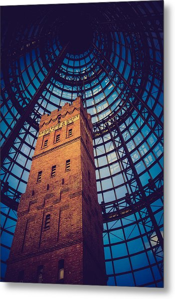History Under Glass Metal Print