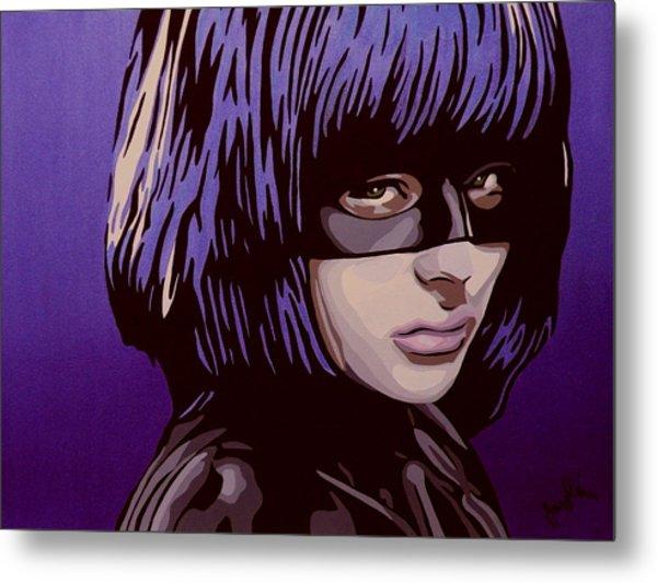 Hit-girl Metal Print by Ian  King
