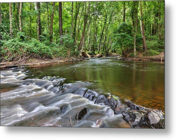 Hitchcock Creek Flow Metal Print