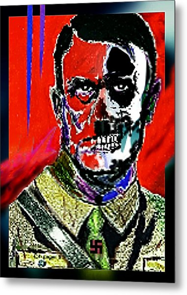 Hitler  - The  Face  Of  Evil Metal Print
