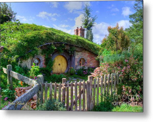 Hobbit Hole 7a Metal Print