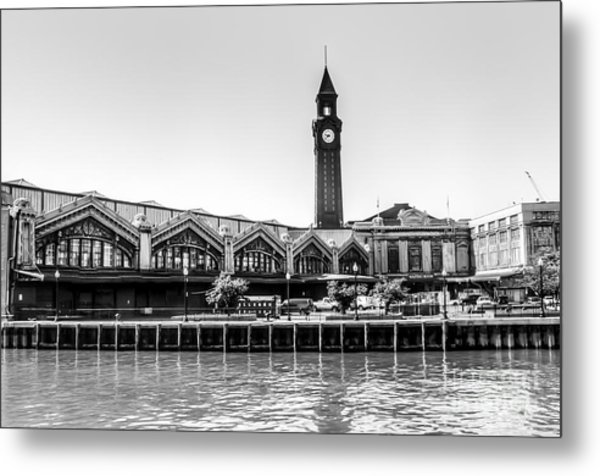Hoboken Terminal Tower Metal Print