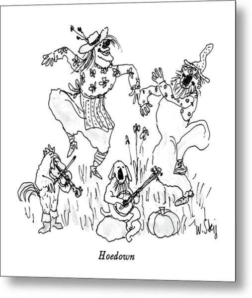Hoedown Metal Print