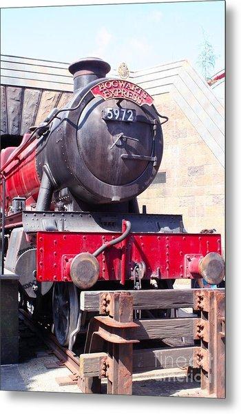 Hogwarts Express Color Metal Print