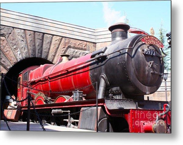 Hogwarts Express In Color 1 Metal Print