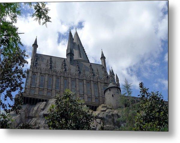 Hogwarts School Metal Print