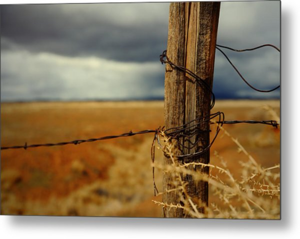 Hold Back The Storm Metal Print