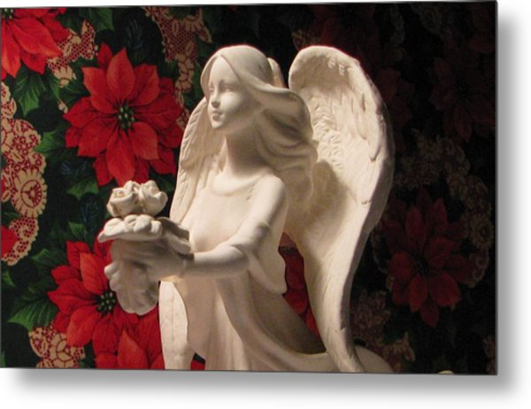 Holiday Childrens  Angel  Metal Print