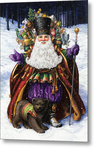 Holiday Riches Metal Print