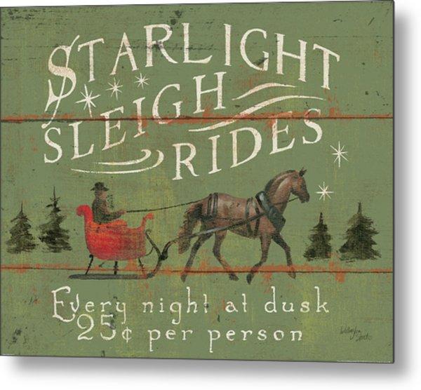 Holiday Signs II Metal Print