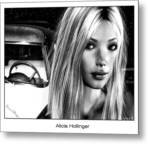 Hollywood Confidential Metal Print