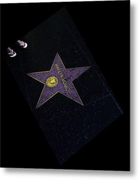 Hollywood Star Metal Print