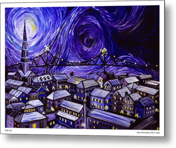 Holy City Metal Print