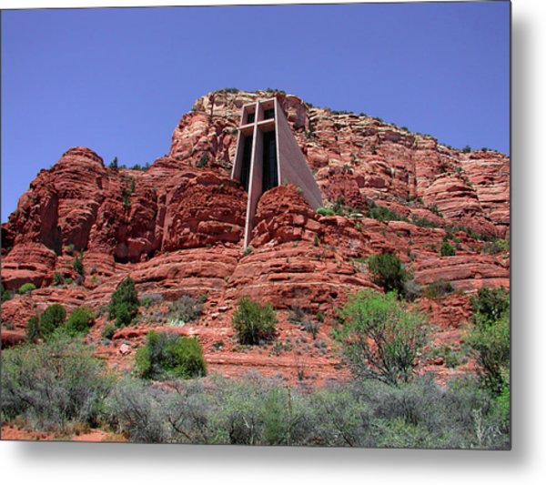 Holy Cross Metal Print