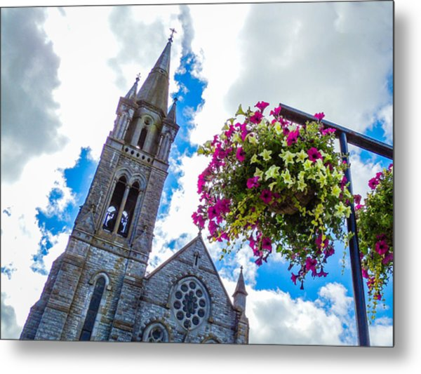 Holy Cross Church Steeple Charleville Ireland Metal Print