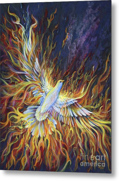 Holy Fire Metal Print
