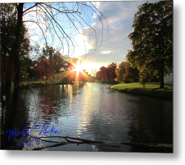 Holy Ground Metal Print by Michael Rucker