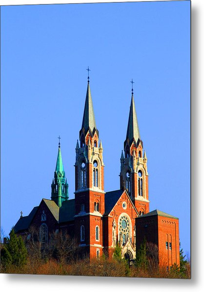 Holy Hill  Metal Print by James Hammen