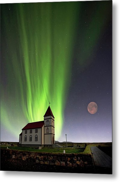 Holy Lights Metal Print by ?orsteinn H. Ingibergsson