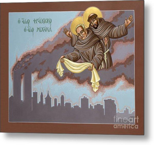 Holy Passion Bearer Mychal Judge 132 Metal Print