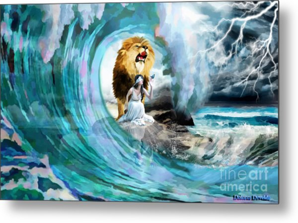 Holy Roar Metal Print